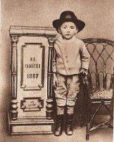 Гашек в 1887 году (один из вариантов фото)