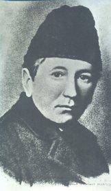 Гашек перед отъездом из Москвы в Чехословакию. 1920