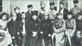 Гашек среди работников политотдела 5 армии Восточного фронта. Иркутск, 1920