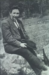 Гашек в 1921 году по возвращении в Чехию