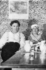 Я. Гашек и А. Львова (Липнице) (ок. 1922)